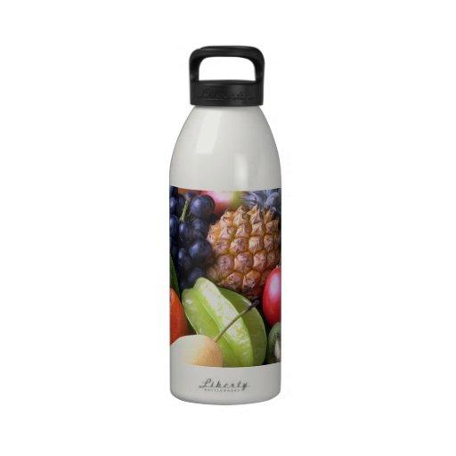 Da fruto la nutrición de la naturaleza botellas de beber