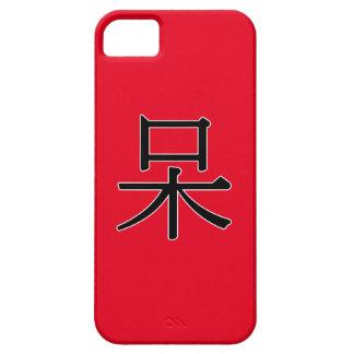 dāi - 呆 (foolish) iPhone SE/5/5s case