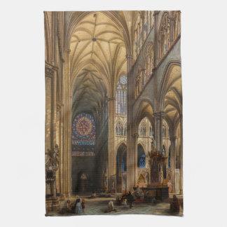 DA interior Catedral de Amiens de Julio Genisson Toallas