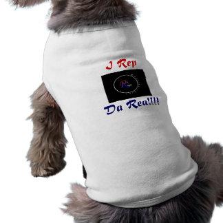 Da Real Logo Dog shirt