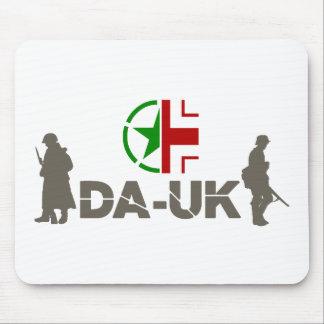 "DA-UK Mousepad ""Plaza"" Printed Logo"