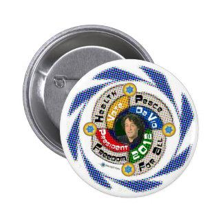 Da Vid for President in 2012 Pinback Button