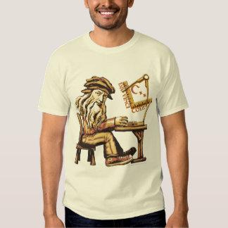 Da Vinci Code C++ Camisetas ligeras Playera