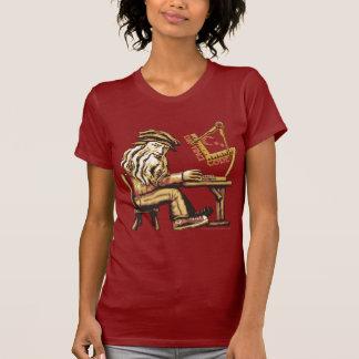 Da Vinci Code C++ Camisetas menudas de las señoras Remeras