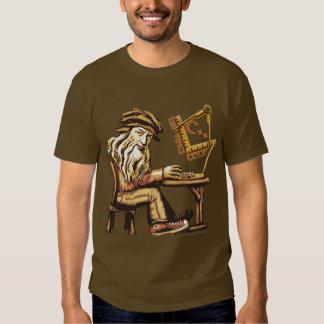 Da Vinci Code C++ Camisetas oscuras Playeras