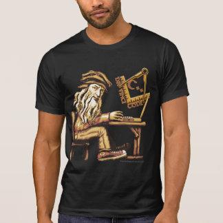 Da Vinci Code C++ Destroyed T-Shirts