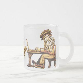 Da Vinci Code C++ Frosted Glass Mugs