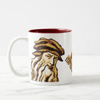 Da Vinci Code C++ Two-Tone Mugs