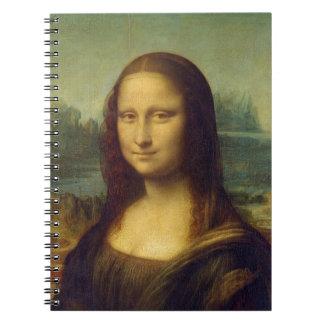 da_Vinci de Leonardo de Mona Lisa de la alegría de Libreta Espiral