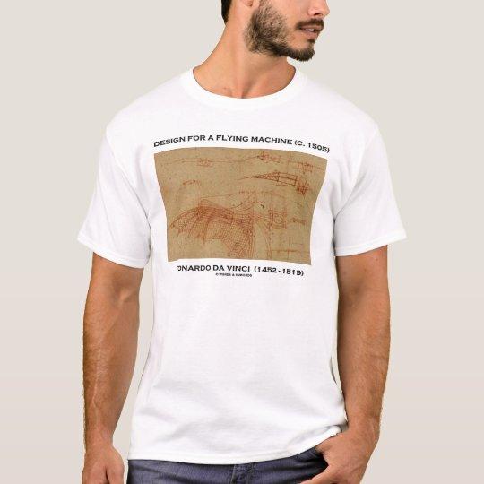 Da Vinci Design For A Flying Machine T-Shirt