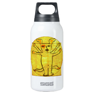 Da Vinci Dog Insulated Water Bottle