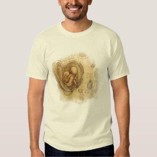 da Vinci -- Embryo Sketch T-Shirt