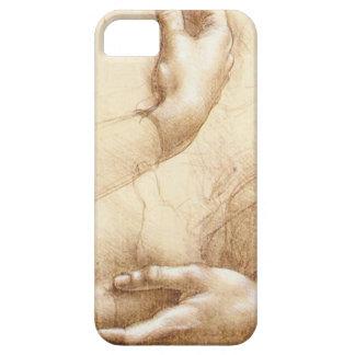 Da Vinci Hands iPhone SE/5/5s Case