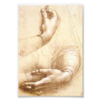Da Vinci Hands Photo Print