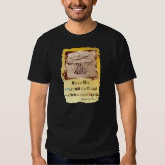 Da Vinci Helicopter T-shirt