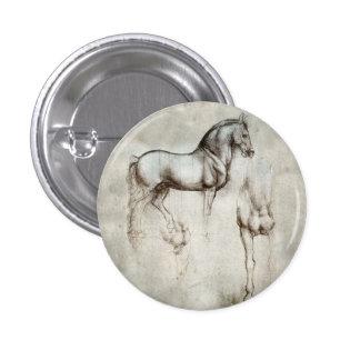 Da Vinci Horse Button