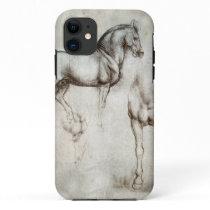 Da Vinci Horse iPhone 11 Case