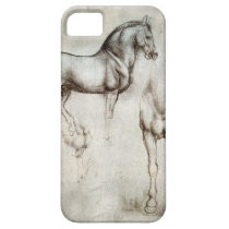 Da Vinci Horse iPhone SE/5/5s Case