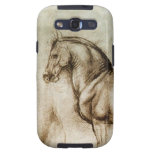 Da Vinci Horse Study Samsung Galaxy Case Galaxy SIII Cover
