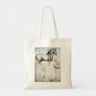 Da Vinci Horse Tote Bag