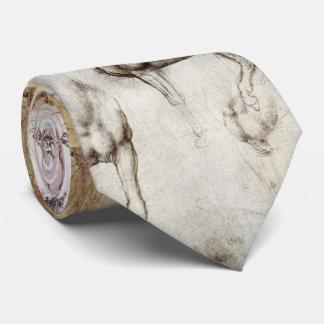 Da Vinci Horses Tie