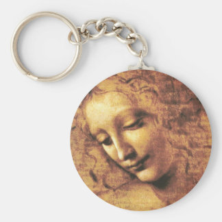 Da Vinci La Scapigliata Key Chain