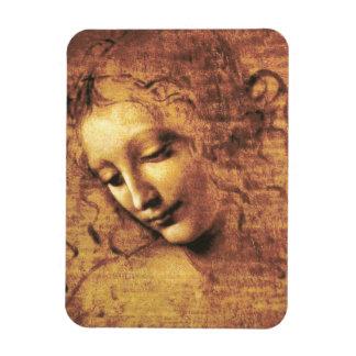 Da Vinci La Scapigliata Magnet