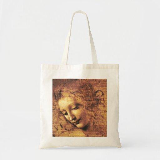 Da Vinci La Scapigliata Tote Bag