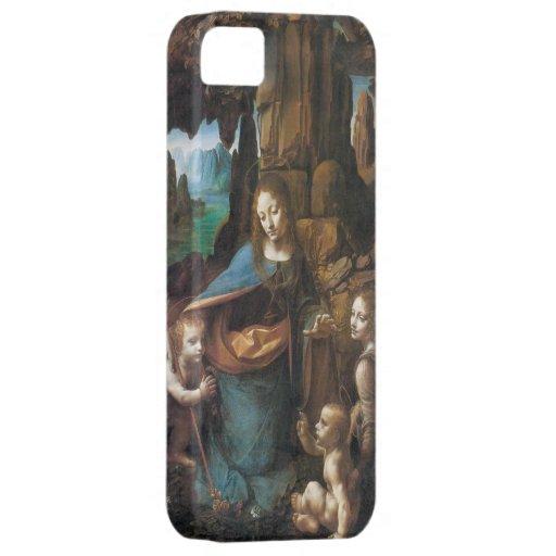 Da Vinci - la Virgen de las rocas 1508 iPhone 5 Case-Mate Carcasa