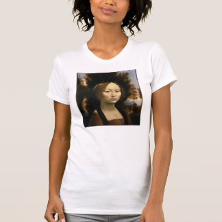 Da Vinci, Leonardo Ginevra de' Benci T Shirts