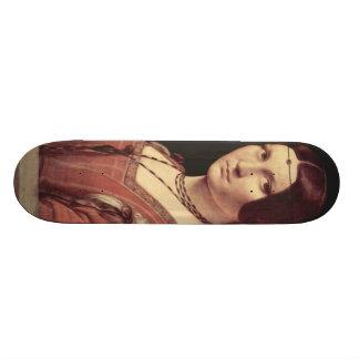 Da Vinci Leonardo - La belle ferronnière Skateboard
