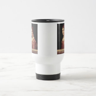 Da Vinci Leonardo - La belle ferronnière Travel Mug