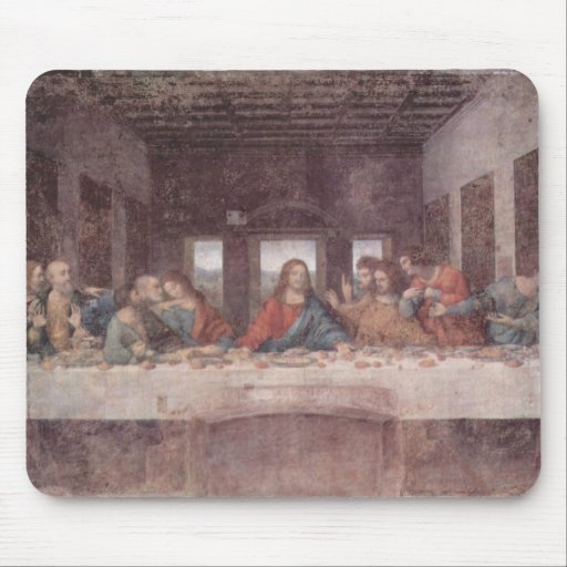 Da Vinci, Leonardo - la última cena Mouse Pads