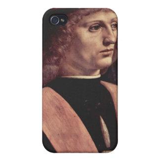 Da Vinci, Leonardo - retrato de una música iPhone 4 Funda
