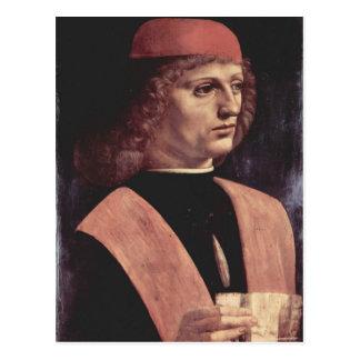 Da Vinci, Leonardo - retrato de una música Tarjetas Postales