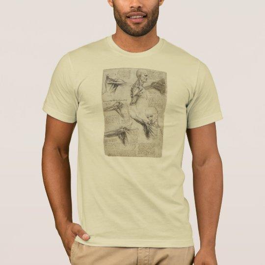 Da Vinci, Leonardo - Study of Anatomy T-Shirt