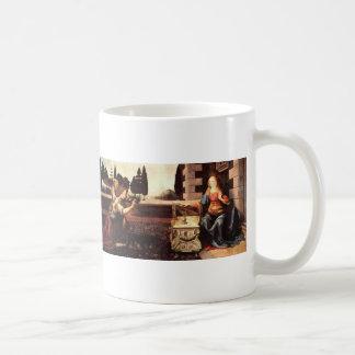 Da Vinci, Leonardo - The Annunciation Coffee Mug