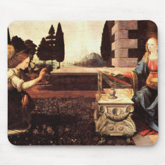 Da Vinci, Leonardo - The Annunciation Mouse Pads