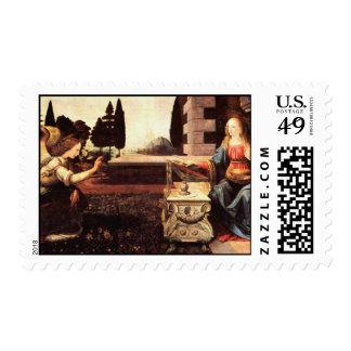 Da Vinci, Leonardo - The Annunciation Postage