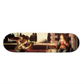 Da Vinci, Leonardo - The Annunciation Skateboard