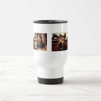 Da Vinci, Leonardo - The Annunciation Travel Mug
