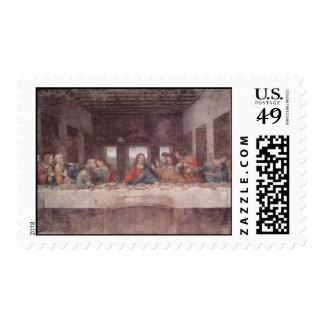 Da Vinci Leonardo - The Last Supper Stamp