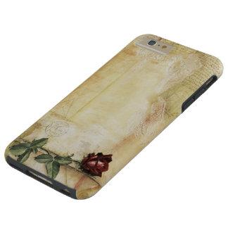 Da Vinci Letter Rose Tough iPhone 6 Plus Case