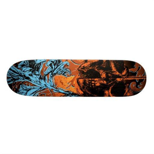 da Vinci Life and Death Board Custom Skateboard