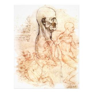 da Vinci -- Man and Horse Sketch Flyer