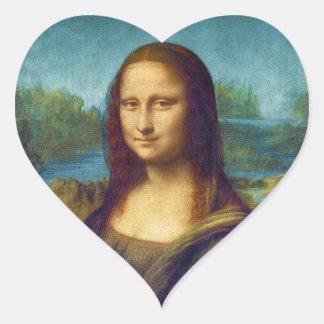 Da Vinci: Mona Lisa Heart Sticker