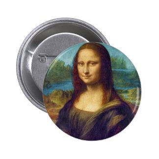 Da Vinci: Mona Lisa Pinback Button