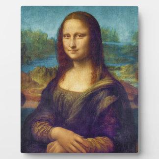 Da Vinci: Mona Lisa Plaque