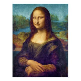 Da Vinci: Mona Lisa Postcard