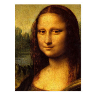 Da Vinci Mona Lisa Tarjetas Postales